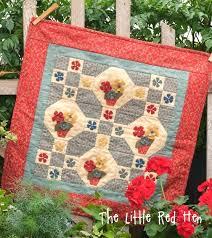 Flower Patch KIT | The Little Red Hen - Quilt Shop & Flower Patch KIT. Adamdwight.com