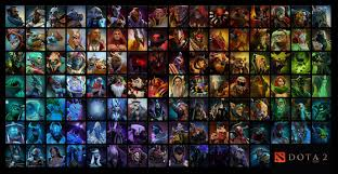 all hero wallpaper updated dota2