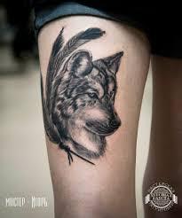 лучший тату с животными для девушек и мужчин черно белые цветные
