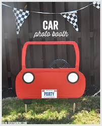 diy car photo booth