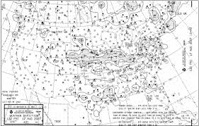Weather Charts Weather Depiction Chart Flight Learnings