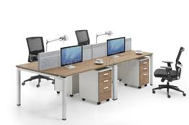 modern 4 person office workstation office partition computer desk sz ws270
