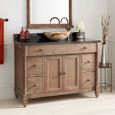 rustic pine bathroom vanities. 483850 48 Vanity Cabinet Rustic Brown 3 Vesselh Sink Vessel Sinks Neeson Browni 7d Excellent Bathroom Pine Vanities -