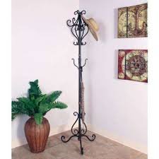 Bronze Coat Rack Adorable Bronze Coat Racks Entryway Furniture The Home Depot