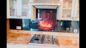 Designer Kitchen Splashbacks Glass Kitchen Splashbacks Collection Creoglass Youtube