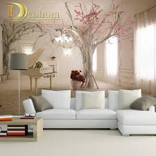 Wall Mural For Living Room 3d Photo Wallpaper Nature Park Tree Murals Bedroom Living Room