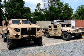 Pentagon Selects 1st Army, Marine Units to Receive JLTV | Military.com