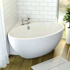 free standing bath tubs australia modern corner freestanding tub acrylic built in waste