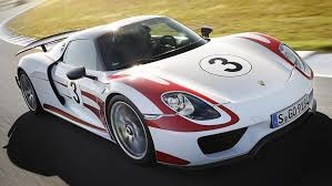 porsche 918 spyder white and red. lct scuppers porsche 918 spyder for australia white and red