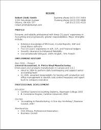 Profile Of Reliable Professional With Good Objective Resume Examples