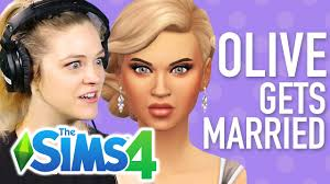 Single Girl's Famous Daughter Gets Married In The Sims 4 - YouTube