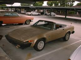 my tr project tr8 left front view