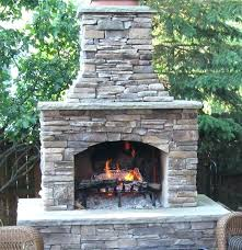 contractor series outdoor fireplace kit chimney cost