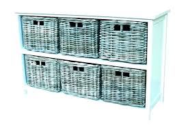 3 basket storage shelf organizer