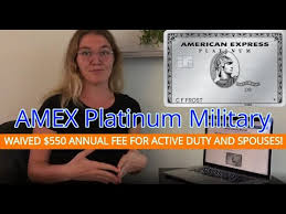 We did not find results for: Amex Platinum Military 550 Annual Fee Waived With Scra Youtube