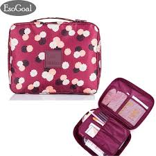 esogoal portable travel makeup cosmetic bag