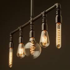 edison bulb lighting fixtures. Lighting:Amusing Edison Bulb Lighting Fixtures Ceiling Light Pendants Lights Fan Kit Multi Plumbing Pipe
