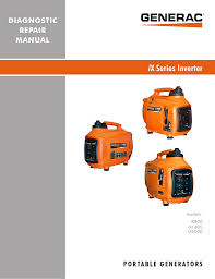Generac Ix2000 Overload Light Stays On Ix Series Inverter Jacks Small Engines Manualzz Com