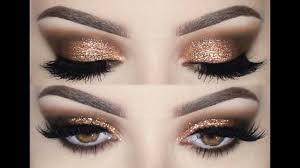 prom make up tutorial smokey eyes and glitter melissa samways