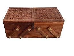image hamee handmade wooden sliding jewelry box