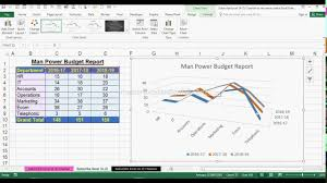 How To Create 3d Line Chart In Ms Office Excel 2016