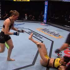UFC - Irene Aldana Gives Us a KO of the ...