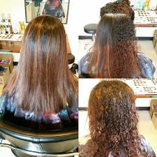 smooth silky and moisturized hair this is the result after a keratin treatment