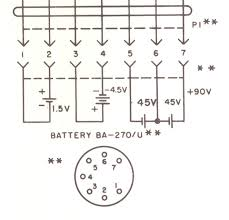 prc 6 battery box actual wiring diagram taken from the manual