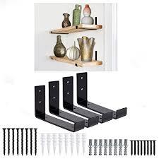shelf brackets 4 pack heavy duty 5 5