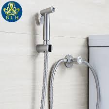 Aliexpresscom  Buy BS565 Wc Bidet Shower Set 3pcs Set Toilet Shower Bidet  Wc Hogedrukspuit Bidet Sprayer 304 Stainless Steel with Hose u0026 Holder from