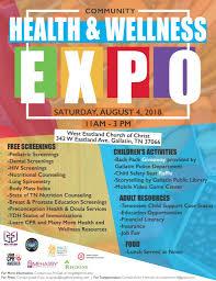 Health Expo Community Health Wellness Expo Meharry Medical College