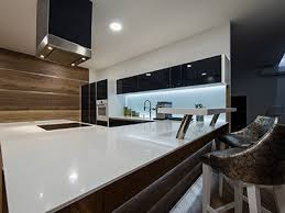 stone installation white empty countertop in modern kitchen interior in louisville ky