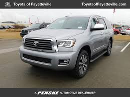 2018 New Toyota Sequoia Limited 4WD at Fayetteville Autopark, IID ...