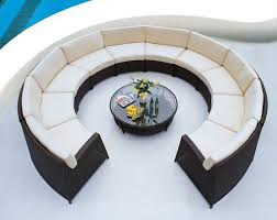 circular furniture. top round patio furniture with piece circular sectional seating