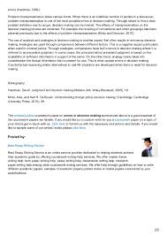 bestessayservices com sample criminal law coursework paper on errors  bestessayservices com sample criminal law coursework paper on errors in decision making