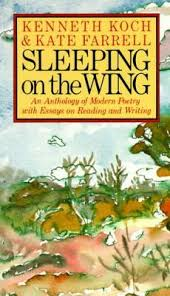 sleeping on the wing an anthology of modern poetry essays on  197672