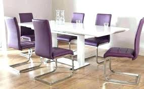 purple dining chair lavender chairs room covers set