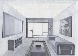 open door drawing perspective. Drawn Bedroom Interior Space #3 Open Door Drawing Perspective