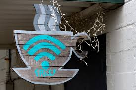 art lighting wireless. Wall Sign Color Blue Lighting Free Art Design Wifi Wireless