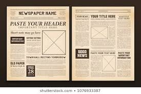 Vintage Newspaper Template Free 311 915 Newspaper Images Royalty Free Stock Photos On Shutterstock