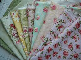Natures Threads » Blog Archive » Creating Quilts from Fabric Scraps & ... pastel florals quilting fabric Adamdwight.com