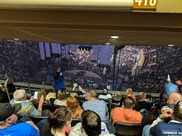 Madison Square Garden Section 418 Concert Seating