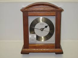 new seiko wood desk mantel clock 1 of 4only 1 available