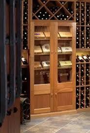 wine cellar furniture. Built-in Vigilant Cigar Cabinet In A Wine Cellar. Cellar Furniture S