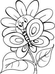 printable coloring pages flowers and erflies printable coloring pages flowers and erflies free flower but printable