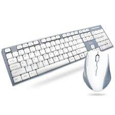 apple keyboard and mouse. wireless keyboard and mouse combo set 2.4g for mac apple pc full size slim silve