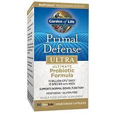 garden of eden probiotics. Garden Of Life Whole Food Probiotic Supplement - Primal Defense ULTRA Ultimate Dietary For Eden Probiotics 8