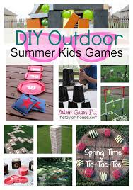 homemade outdoor games for kids. There\u0027s More DIY Outdoor Games For Kids Ahead! Just Click Homemade F