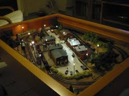 a train in your coffee table