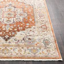 traditional area rugs vintage traditional orange beige area rug traditional rugs and runners